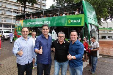 Chegada do Bustour sinaliza uma nova era para o turismo da Capital