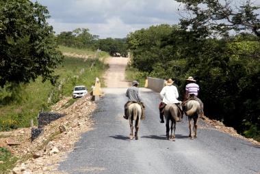 Município prepara entrega de nova ponte na comunidade do Monjolo