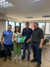 Em Fortaleza, secretária conhece projeto para incentivo de empresas - O Documento