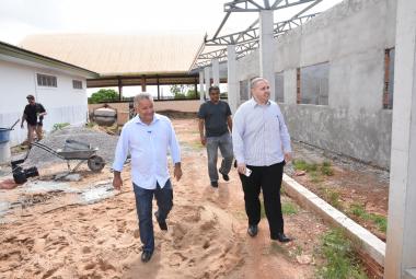 Secretaria de Educação deve entregar 30 obras de reforma, reconstrução e ampliação em unidades da rede
