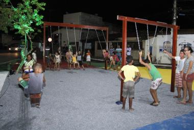 SUGESTÃO DE PAUTA - Residencial Coxipó é contemplado com praça pública