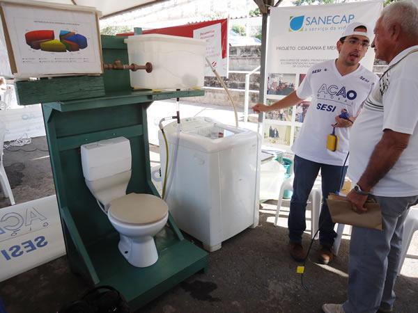 Famosos Prefeitura de Cuiabá | Economia de água com sistema de reuso pode  LM78