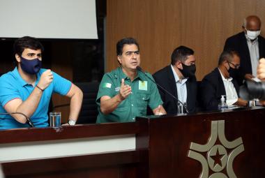 Pinheiro é eleito presidente do Consórcio do Vale do Rio Cuiabá e assegura atuação no resgate da região