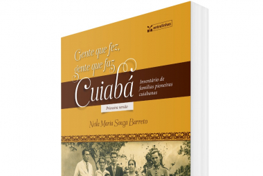 Prefeitura de Cuiabá é parceira em  livro que registra centenas de troncos familiares e milhares de cuiabanos em seus 302 anos